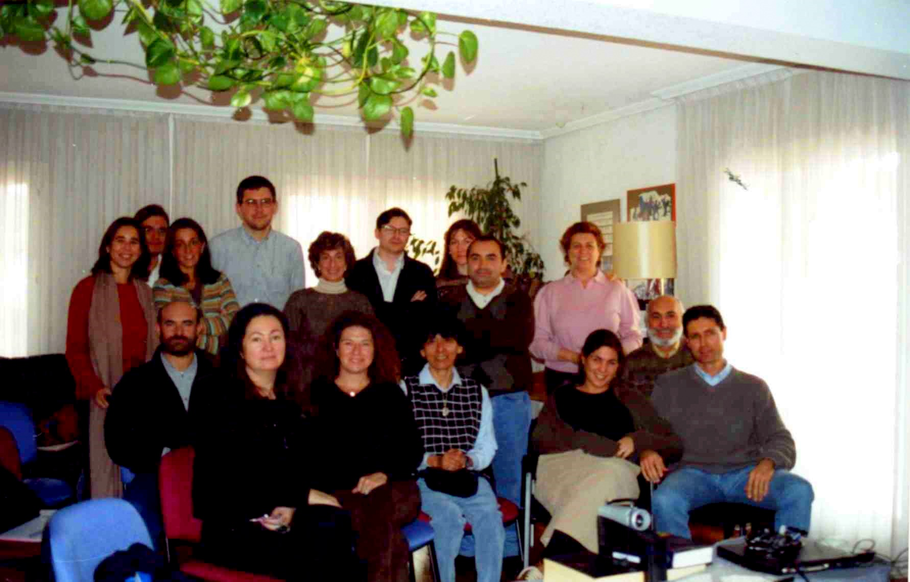 00 1º grupo curso 2000 Instituto Erickson Madrid
